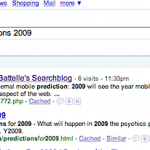 Predictions 2009: How Did I Do?