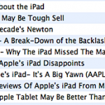 Is The iPad A Disappointment? Depends When You Sold Your AOL Stock.