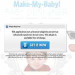 Make My Baby – Is The Baby Facebook? Updated: No, It's Myspace…