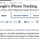 "A Sad State of Internet Affairs: The Journal on Google, Apple, and ""Privacy"""