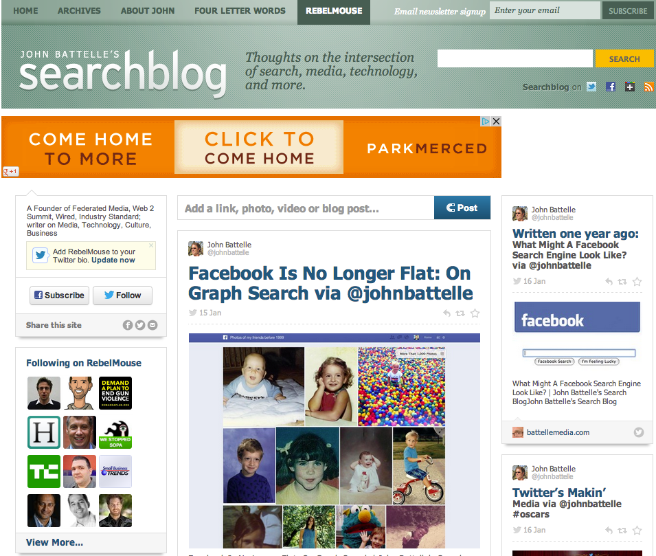 955 x 809 · 514 kB · png, The Searchblog Social Front Page