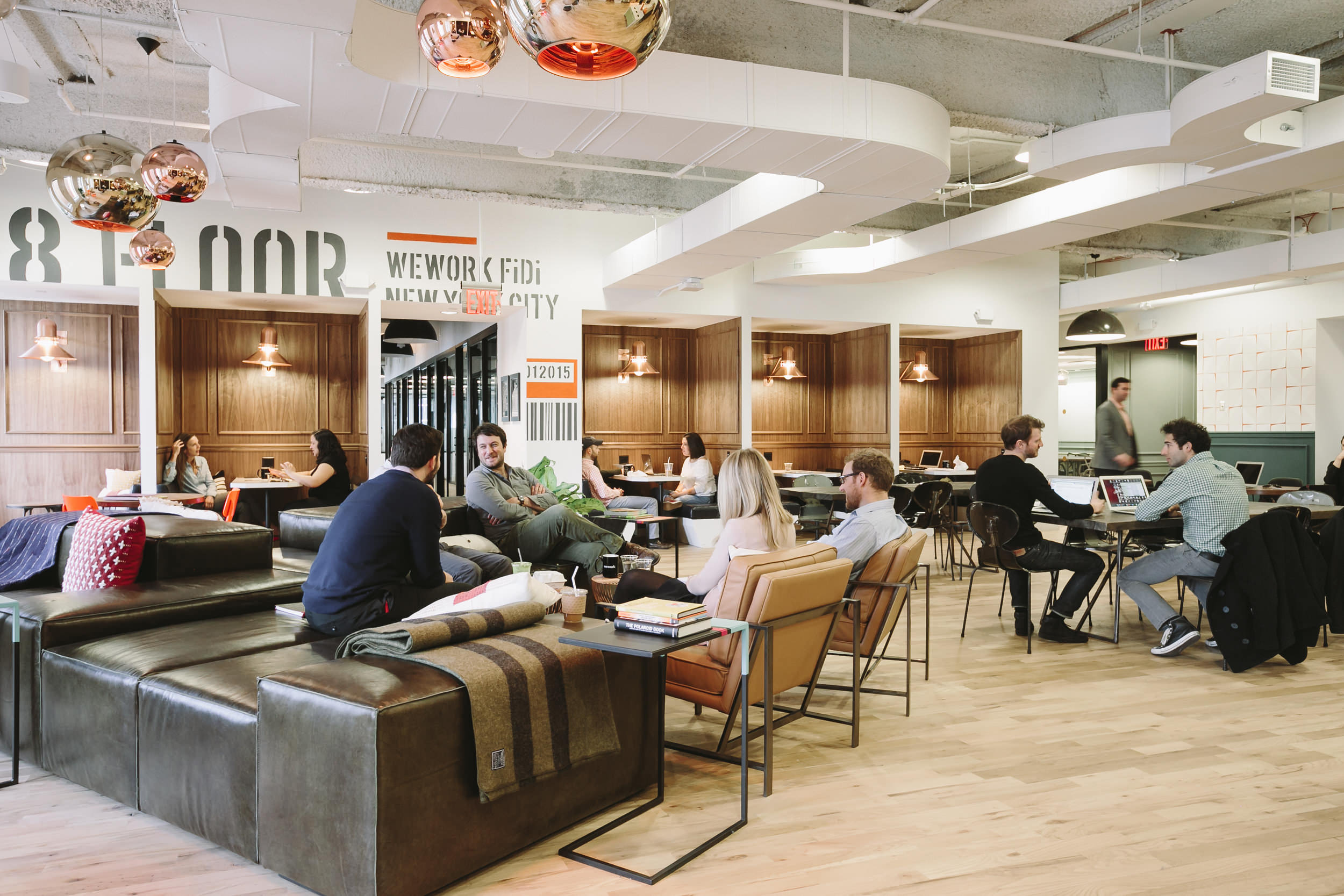 Scaling through culture wework and blue bottle vs regus for Interior design companies nyc